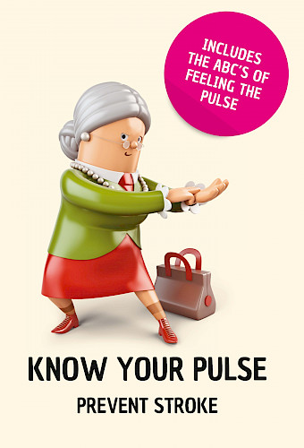 Know your pulse - prevent stroke - plain language