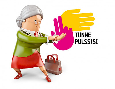 Tunne pulssisi logo